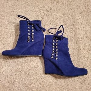 2/$30 New Bamboo boot wedges